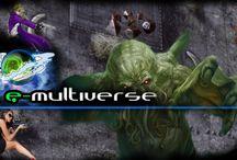 E-multiverse news