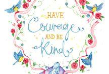 Watercolour sayings