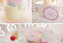 Graduation 2015 Ideas - Ice Cream Theme