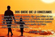 conocer de Dios