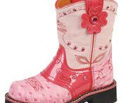 Kid's Cowgirl and Cowboy Boots / by Susan Hilliard