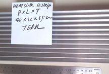 Heatsink 12 Sirip 40 Cm Tebal