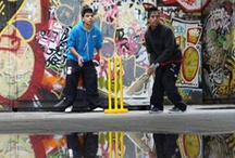 Sussex Cricket in the Community / Sussex County Cricket Club is proud to have created an Indoor School that boasts the most up-to-date facilities in the country, including specialist surfaces, independent lanes with interchangeable nets, substantial run-ups, tension netting ideal for indoor cricket matches, bowling machines and a comfortable viewing balcony overlooking the school. We also offer one-to-one coaching, teacher training, Street20 and virtual cricket! / by Sussex County Cricket Club