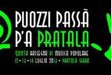 """Stand Pubblicitario CAI al """"Puozzi Passà pa' Pratala 5"""""""