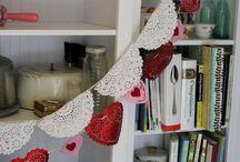 Crochet bunting