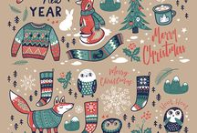 Marry Christmas graphic ideas