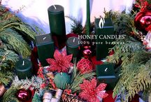 Beeswax Candles - Green