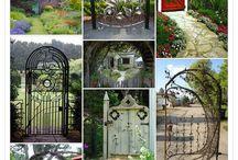 Gates in the garden
