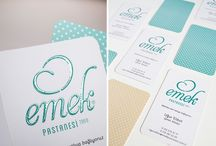 EMEK PATISSERIE / Packaging & Graphic & Design