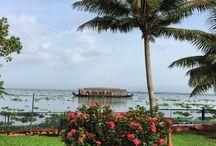 kerala / Backwater, kerala, India,