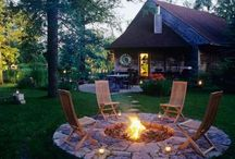 outdoor spaces / by Mary Anne Folckomer