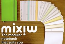 The Mixiw Notebook / A modular notebook with a new binding system. Now live on Kickstarter: http://kck.st/1NoUuAw