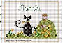Cross Stich Calendar