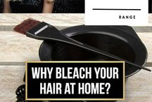 Colour me Blonde / Beautiful blonde Hues and Hair Color Options to bleach my hair at home.