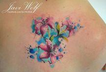 tatoo fleurs