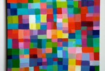 Paintings. Pattern / Interesting, colourful, thought provoking beautiful patterns. From many sources of inspiration.