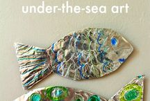 Sea art ideas