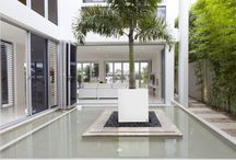 modern furniture concrete