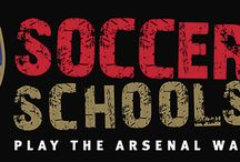 Arsenal Soccer School / Throughout the summer of 2015 we will be running an Arsenal Soccer School http://ow.ly/NovD3