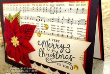 Stampin up Christmas cards / Christmas cards