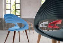 Sillas / Squadra / Selección de sillas, por su diseño , ergonomia i intemporalidad.