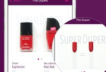 About SuperDuper / Beauty insiders get it. You should, too.  The SuperDuper iPhone app reveals what beauty insiders already know: drugstore cosmetics can be just as good (or better!) than our favorite luxury brands.