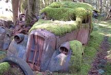 Abandon cars