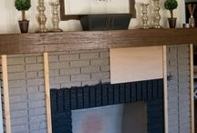 Fireplace redo / by Cindee