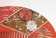 Ornamental hairpin〈ku-shi〉