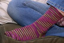 Sock Inspiration / Patterns perfect for knitting a pair of socks with Solitude Targhee Sock