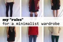 Minimalist Wardrobe / by Jen Simpson