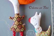 muñecas de tela / by teresa palomino