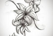 Tatouages de Fleurs