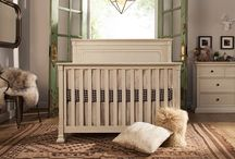 Nelson 4-in-1 Convertible Crib / Drawing inspiration from 18th century Eastern Shore craftsmanship, the refined detailing of the Nelson Crib exudes a rustic and delicate charm. With carefully constructed dentil detailing and a unique multi-step finishing process, the rustic appeal of the Nelson Crib is suitable for the modern nursery. Designed to pair perfectly with the Nelson 7-drawer dresser.