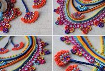 collares y pulseras crocher