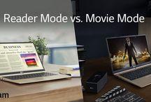 Productivity - LG gram & Monitors / Let's get productive.