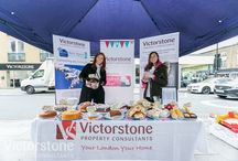 #BakeClub fundraiser for Children with Cancer / #TeamVictorstone raised £1000+ for Children with Cancer on a cold windy day on Camden High Street NW1