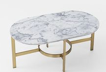 Natural Stone - Furniture / Natural stone can be the perfect complement to beautiful pieces.