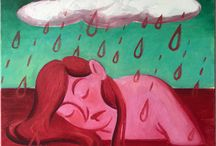 Elizabeth Levesque's Paintings For Sale / Available paintings for purchase by Philadelphia based artist Elizabeth Virginia Levesque