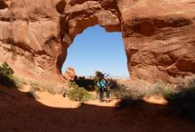 Arches National Park / Utah. Vacation time.Yippeeee
