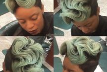 Hair- wavy