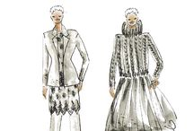 OUTFIT fashion sketch / fashion trend  Couture Atelier