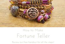 Fortune Teller Bracelet / New project at beadshop.com!
