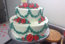 Wedding Cakes / Wedding Cakes baked fresh and decorated by Kretchmar professionals.