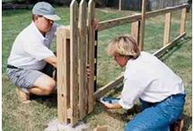 Pretty Picket Fence Ideas