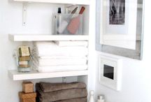 Small bathrooms with gr8 storage ideas