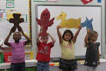 Kindergarten beginnings 2013-2014 / by Domenique Murphy