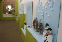 My Winter Wonderland / Here are photos of my Winter Wonderland displays at our Early Childhood Centre 'New Shoots Albany'
