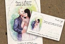 Weddings / Invitations, bridal showers, save the dates and more!