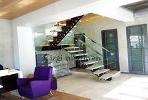 Merdiven tasarım / Çelik merdiven tasarımları